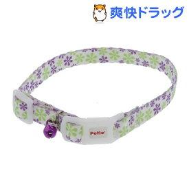 CAT COLLAR フラワーカラー パープル(1コ入)【ペティオ(Petio)】