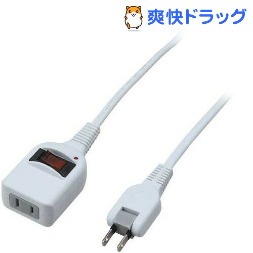 ノイズフィルター集中スイッチ付 1個口 1m ホワイト Y02BKNS111WH(1コ入)
