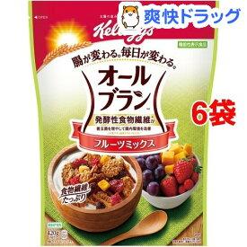 ケロッグ オールブラン フルーツミックス(420g*6袋セット)【オールブラン】