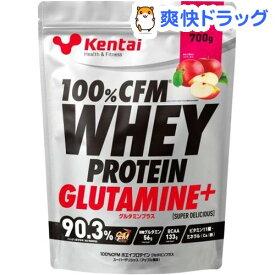 Kentai(ケンタイ) 100%CFM ホエイプロテイン グルタミン アップル K0223(700g)【kentai(ケンタイ)】
