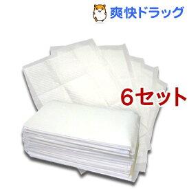 ペットシーツ レギュラー 厚型 炭入り(100枚入*6コセット)【オリジナル ペットシーツ】