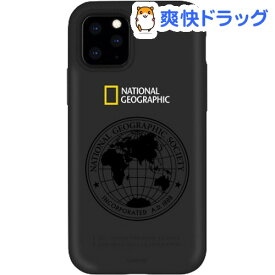 iPhone 11 Pro Max Global Seal Double Protective Case ブラック(1個)【National Geographic(ナショナル ジオグラフィック)】