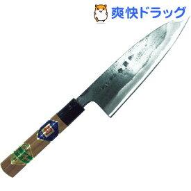 黒打 舟行包丁 クルミ柄 スーパー鋼 165mm(1本入)