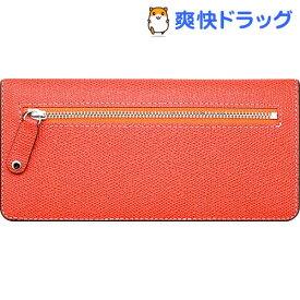 66085b6e973b ハンスマレ お財布型マルチケース スリムスマートウォレット オレンジ HAN7579(1コ入)