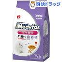 メディファス インドアキャット 11歳から 老齢猫用 チキン&フィッシュ味(280g*5袋入)【メディファス】[キャットフー…