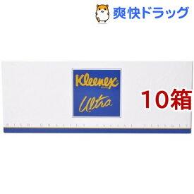 クリネックス ティシュー ウルトラ ファミリー(140組*10箱セット)【クリネックス】