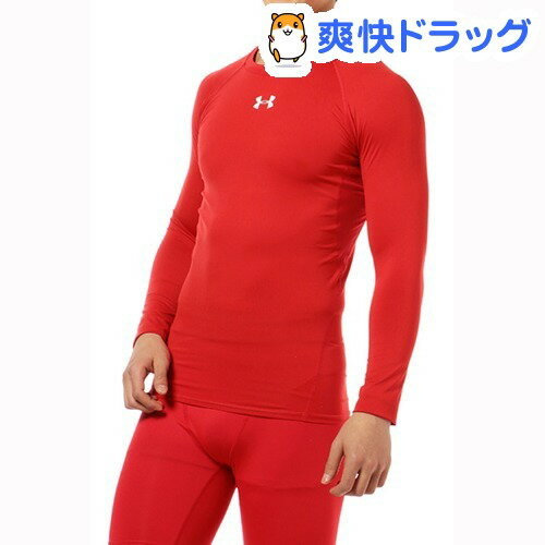 MCM3748 UA HEATGEAR ARMOUR LS RED/RED MD(1枚入)【アンダーアーマー(UNDER ARMOUR)】【送料無料】