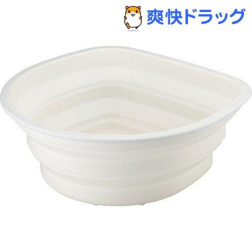 ポゼ シリコン洗桶 ホワイト(1コ入)【ポゼ(シンク廻り商品)】【送料無料】