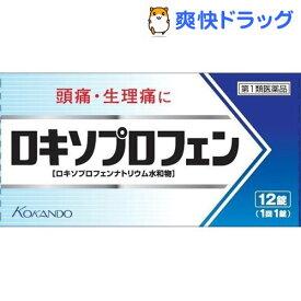 【第1類医薬品】ロキソプロフェン錠「クニヒロ」(セルフメディケーション税制対象)(12錠)【p2q】【クニヒロ】
