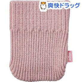 富士フイルム instax mini Link ソックケース ピンク(1個)