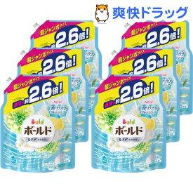ボールド フレッシュピュアクリーンの香り つめかえ用 超ジャンボサイズ 洗濯洗剤(1.58kg*6コセット)【stkt02】【ボールド】