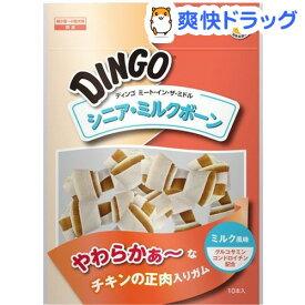ディンゴ ミート・イン・ザ・ミドル シニア・ミルクボーン(10本入)【ディンゴ】