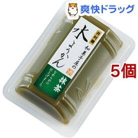 井村屋 和菓子屋の水ようかん 抹茶(83g*5個セット)【井村屋】