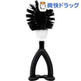 ニコット キッチン排水口洗いブラシ ブラック K66612(1コ入)【ニコット】