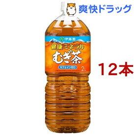 伊藤園 健康ミネラルむぎ茶(2L*6本入*2コセット)【ouy_m2】【健康ミネラルむぎ茶】[麦茶]