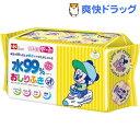 ミッキー&ミニー 純水 99% おしりふき 日本製 パラベンフリー(80枚入*3コパック)