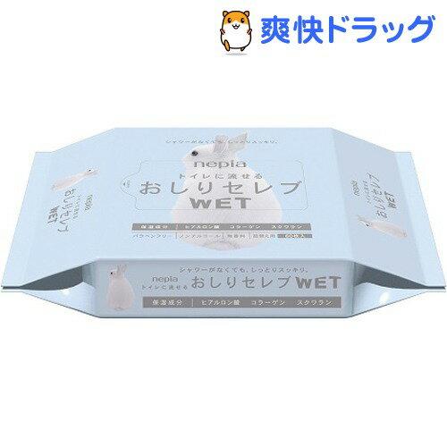 ネピア おしりセレブ ウェット 詰替え 無香料(60枚入)【ネピア(nepia)】
