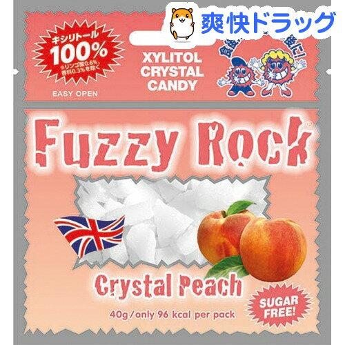FuzzyRock(ファジーロック)キシリトールキャンディーピーチ味