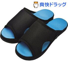 ガチ押し健康ルームサンダル メンズふみっぱ ブルー(1足)【ふみっぱ】