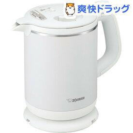 象印 電気ケトル 0.8L ホワイト CK-AX08-WA(1個)【象印(ZOJIRUSHI)】