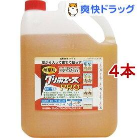 グリホエースPRO 原液タイプ(5L*4本セット)[除草剤]