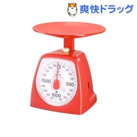 タニタ クッキングスケール 1439 2000g レッド 1439-RD-2kg(1台)【タニタ(TANITA)】