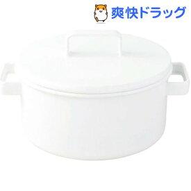 富士ホーロー エトル キャセロール 20cm ホワイト(1コ入)