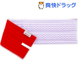 トレピカ 軽スイ 洗浄モップWA45 スペア レッド GP094(1個)【トレピカ】