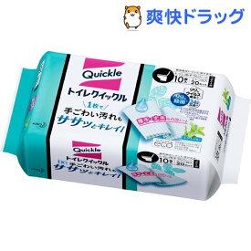 トイレクイックル トイレ掃除シート 詰め替え(10枚入)【クイックル】