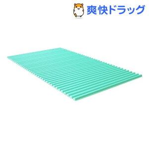 風呂ふた カラフル カラーウェーブ L14 75*140cm用 グリーン(1本入)