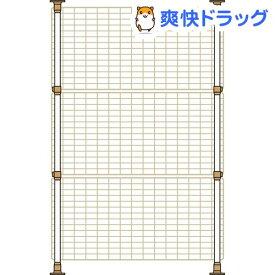 マルカン 猫網戸脱走防止フェンス Sサイズ(1コ入)