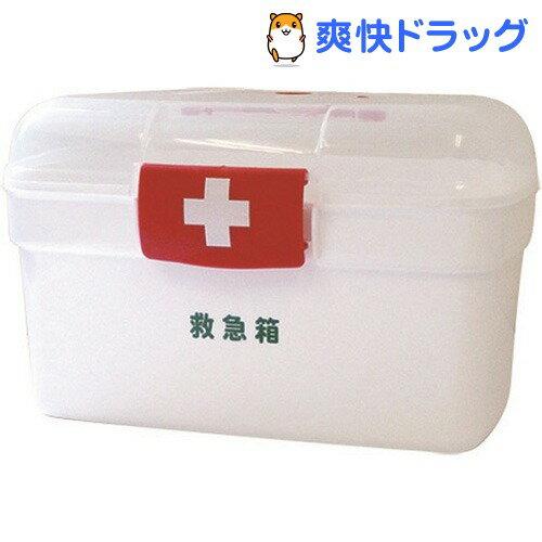LEポリ救急箱(衛生材料セット付) Lサイズ(1コ)【リーダー】【送料無料】
