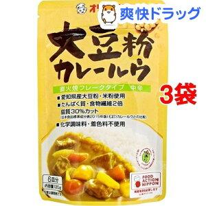 オリエンタル 大豆粉カレールウ(120g*3袋セット)