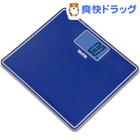 タニタ デジタルヘルスメーター メタリックブルー HD-382-MB(1台)【タニタ(TANITA)】