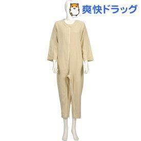 ソフトケア ねまき 厚手 黄 LL(1枚入)【ソフトケア(介護用品)】