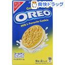 ゴールデンオレオ バニラクリーム(9枚*2パック)【オレオ】