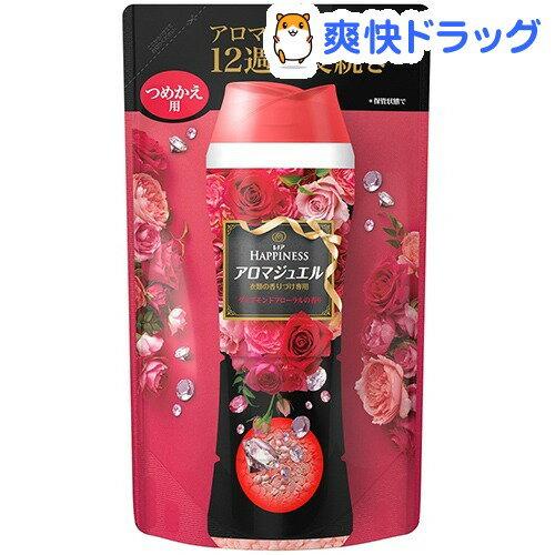 レノアハピネス アロマジュエル ダイアモンドフローラルの香り 詰替え 香り付け専用剤(455mL)【pgstp】【レノアハピネス アロマジュエル】
