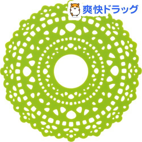 ha.na(ハナ) IHシリコンマット SLIH1 グリーン(1枚入)【ha.na(ハナ)】