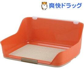 ボンビアルコン しつけるウォールトレー オレンジ Mサイズ(1コ入)【しつけるトレー】