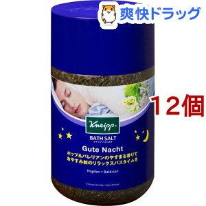 クナイプ グーテナハト バスソルト ホップ&バレリアンの香り(850g*12個セット)【クナイプ(KNEIPP)】