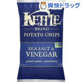 ケトル ポテトチップス シーソルト&ビネガー(142g)【ケトル】