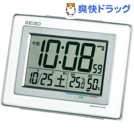 セイコー 電波目覚まし時計 SQ686W(1台)【セイコー】