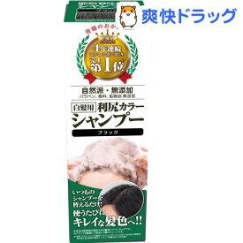 利尻カラーシャンプー ブラック(200ml)[白髪隠し]