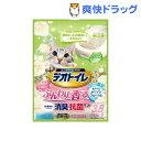 デオトイレ ふんわり香る消臭抗菌サンド ホワイトフローラルの香り(3.8L)【デオトイレ】
