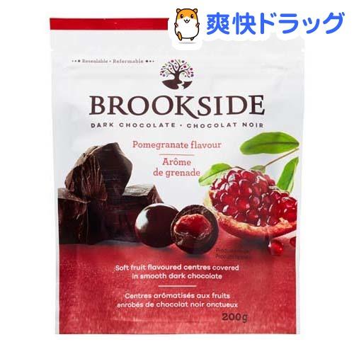 【訳あり】ブルックサイド ダークチョコレート ザクロ(200g)【BROOKSIDE(ブルックサイドチョコレート)】