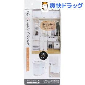 MSC 収納袋 ベーシック収納 クローゼット ホワイト Sサイズ 85697(1コ入)【TOWA(東和産業)】