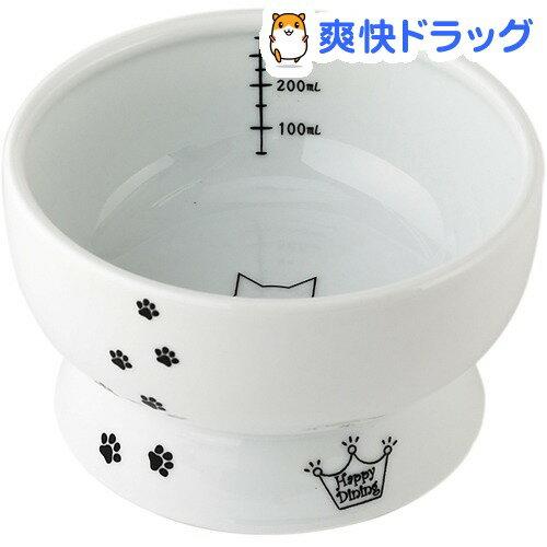 猫壱 脚付ウォーターボウル 猫柄(1コ入)【猫壱】