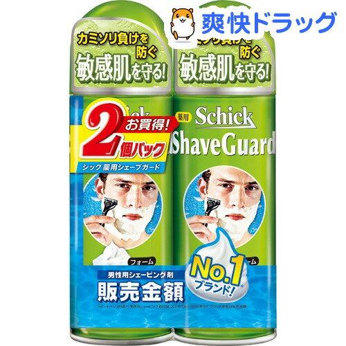 【企画品】シック 薬用シェーブガード シェービングフォーム(200g*2コパック)【シック】