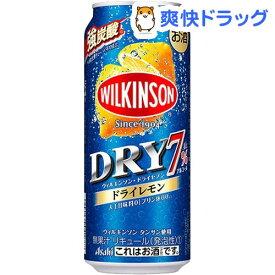 ウィルキンソン・ドライセブン ドライレモン 缶(500ml*24本入)