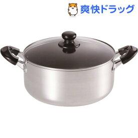 ささら IH対応大型料理鍋 24cm SM-8817(1コ入)【ささら】